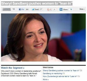 Sheryl Sandburg
