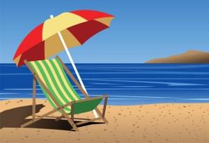 Chair-on-beach