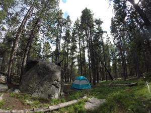 Stull Lake Campsite