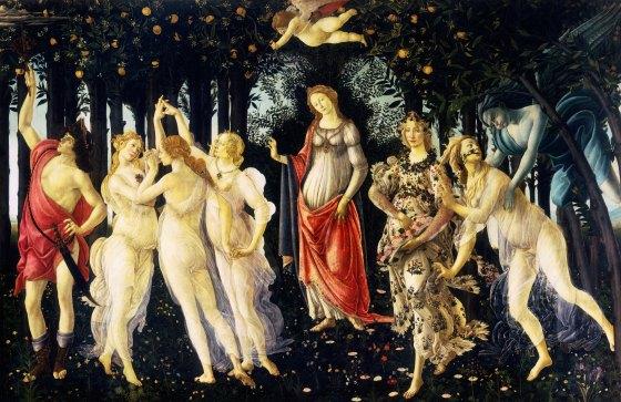 La Primavera by Sandro Botticelli