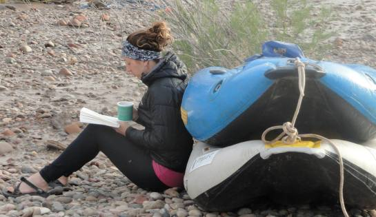 reading and rafting