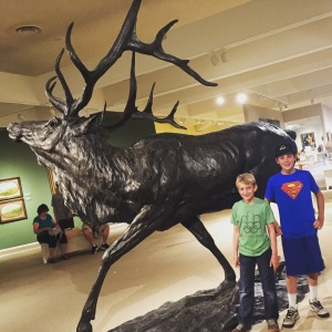 big elk and boys